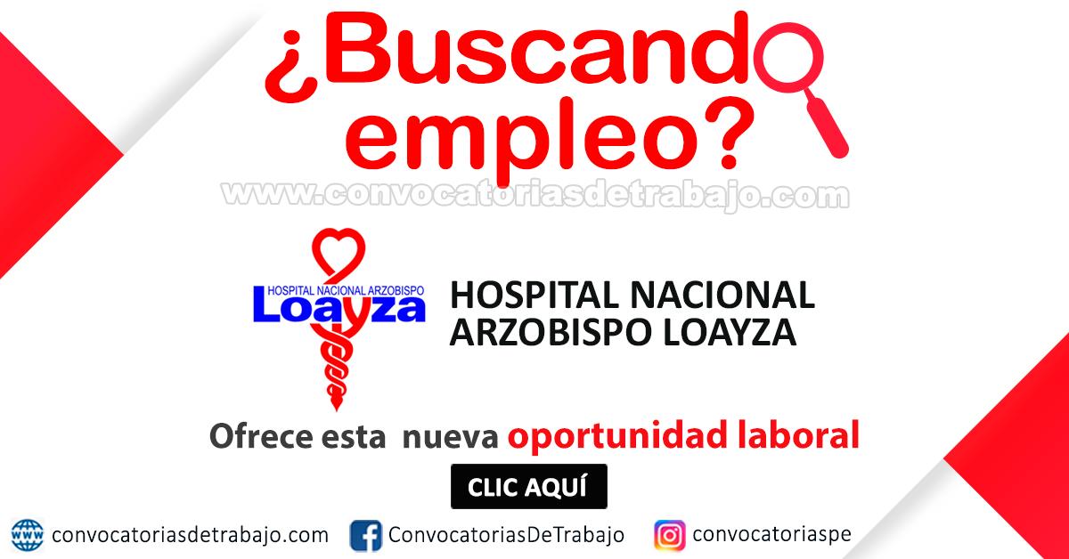Hospital loayza citas internet