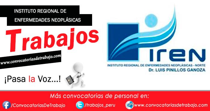 TRABAJOS IREN-NORTE 2016: Convocatorias vigentes de personal, empleos ...